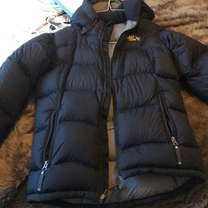 Small down/feather coat
